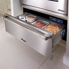 Dacor Renaissance 30  Stainless Steel Electric 500 Watt Warming Drawer ERWD30B