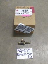 FSP WHIRLPOOL RANGE SURFACE BURNER VALVE 9757218 FREE SHIPPING NEW PART