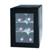 Igloo 6 Bottle Wine Cooler in Black with one Temperature Zone  FRW062