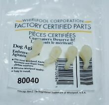 50 PACKS Whirlpool Kenmore 80040 Agitator Dogs NEW OEM  QTY 50 PACKS of 4 dogs