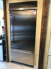 KitchenAid KBBR306ESS 20 9 Cu  Ft  SS Built In Bottom Freezer Refrigerator