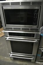 Thermador 30  Stainless Steel Triple Combination Convection Wall Oven MEDMCW3
