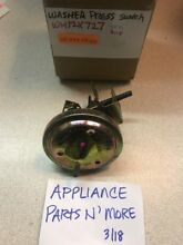 NEW GE WASHER WATER LEVEL PRESSURE SWITCH WH12X727 FREE SHIPPING