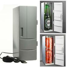 Portable Mini USB Fridge Cooler Freezer Refrigerator Cans Drink Cooler Warmer