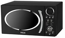 RCA RMW987 BLACK 0 9 cu  ft  Retro Microwave Black Ovens Major Appliances Home
