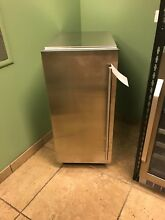 Sub Zero UC15IP 15 Inch Built In Indoor Panel Ready Ice Machine FREE SHIPPING