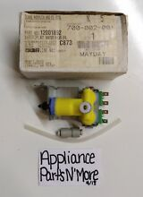 MAYTAG REFRIGERATOR WATER INLET VALVE FILTER 12001892 FREE SHIPPING NEW PART