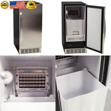 EdgeStar IB450SSP 50 lb  15 Inch Wide Undercounter Clear Ice Maker with
