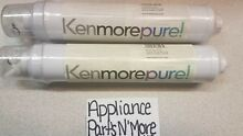 Sears Kenmore Pure 38447 Refrigerator replacement Water Filter 46 38442    2 pak