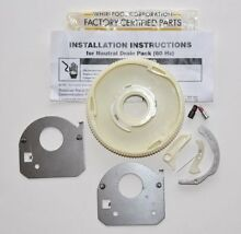 PART   388253 GENUINE FACTORY OEM CLOTHES WASHER TRANSMISSION NEUTRAL DRAIN