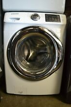 Samsung 27  White Steam Wash Front Load Washer WF42H5200A