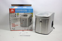 Igloo ICE105 Counter Top Compact Ice Maker  Stainless    New Other