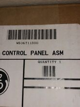 GE profile Panel Control Top Stainless SteelWN36T11000
