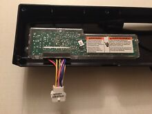 Sears KENMORE Dishwasher Control Board With Selector 154712101 Frigidaire