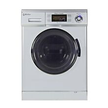 All in One 13lbs  24 w Compact Combo Washer and Electric Dryer  with  pedestal