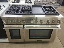New Thermador PRO GRAND Professional 48  Stainless Stove  30 DAY WARRANTY