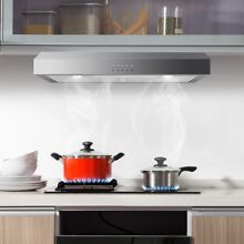Stainless Steel 69W 30  Under Cabinet Range Hood W   LED light Kitchen Appliance