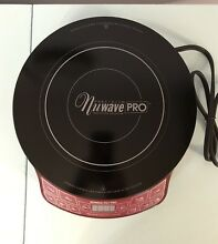 NUWAVE PRECISION INDUCTION COOKTOP PRO 30354CR  NEW With CASE 1800W
