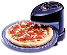 PRESTO PIZZAZZ PIZZA OVEN WITH ROTATING NON STICK BAKING TRAY MODEL 0343003