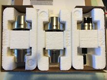 WOLF KNOB KIT 820425 FOR MODEL DF304LP 30  STOVE STAINLESS STEEL
