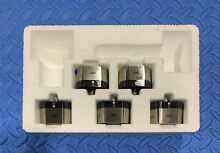 WOLF KNOB KIT 827013 FOR MODEL CG365CS STAINLESS STEEL  STOVE