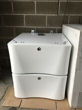 Electrolux Pedestal for Washer Dryer EPWD12IW Luxury Glide in White