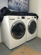 Kenmore HE2 High Efficiency Front Load Washer Dryer Set  Used  White