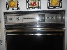 VINTAGE TAPPAN WALL OVEN SELF  CLEANING  VERY CLEAN   WORKS GOOD