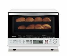 SHARP Super Heated Steam Oven Grill Microwave 31L White RE SS10D W AC100V