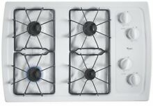 Whirlpool W3CG3014XW 30 Inch Gas Cooktop  4 Sealed Burners FREE SHIPPING