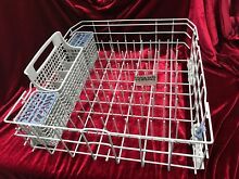Kenmore W10780925 Lower Dishwasher Rack   Includes Wheels On Rack   Free Ship