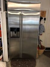 Jenn Air 42  Inch Luxury Series Built In Stainless Steel Refrigerator JS42SEDBDA
