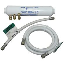 No Logo LF4096323206014 Poly Flex Ice Maker Connector Kit with Water Filter
