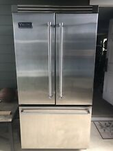 Viking Professional French Door Refrigerator Bottom Freezer VCFF036SS