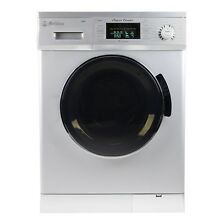 All in One 1 6 cu  ft  Compact Combo Washer and Electric Dryer with Opt