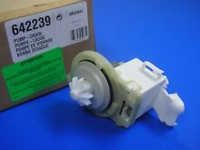 Bosch 00642239 Dishwasher Drain Pump 642239 NEW OEM