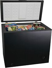 7 0 cu ft Chest Deep Freezer Upright Compact Dorm Apartment Home Appliance Black