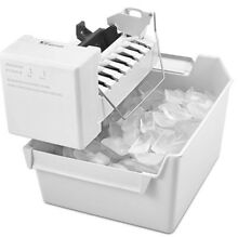 NEW IN SEALED BOX WHIRLPOOL ICE MAKER KIT W  TRAY  ECKMFEZ2    EZ CONNECT WHITE