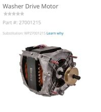 WHIRLPOOL DRIVE MOTOR  27001215 FOR WASHERS