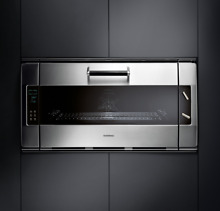 Gaggenau 36  Single Electric Stainless Steel Convection Wall Oven EB388610