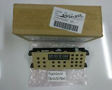 ELECTROLUX RANGE CLOCK CONTROL BOARD 316207603 NEW PART FREE SHIPPING