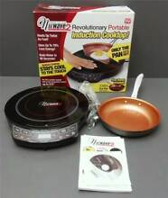 NuWAVE PRECISION REVOLUTIONARY PORTABLE INDUCTION COOKTOP 2 FREE FRY PAN