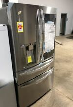 LG 30 cu  ft  4 Door French Door Smart Refrigerator with InstaView Door in Door