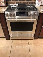 GE CAF  CGS985SETSS 30 Inch Slide In Caf  Series Gas Range FREE SHIPPING