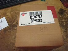 NEW OEM 12002784 Whirlpool Refrigerator Relay and Overload Kit Y56  Y57