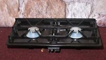 New JENN AIR Black Two Burner Module Assembly AG200 for Gas Cooktops Ranges  2