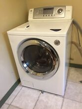 Washer machine used  LG White  2 3 years old in good condition