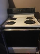 Working Electric Hotpoint Stove And Oven