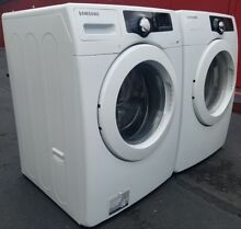 Samsung VRT matching front loader washer and dryer machine set