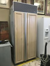 Wood Paneled Sub Zero Side By Side Built In Refrigerator And Freezer Model   561